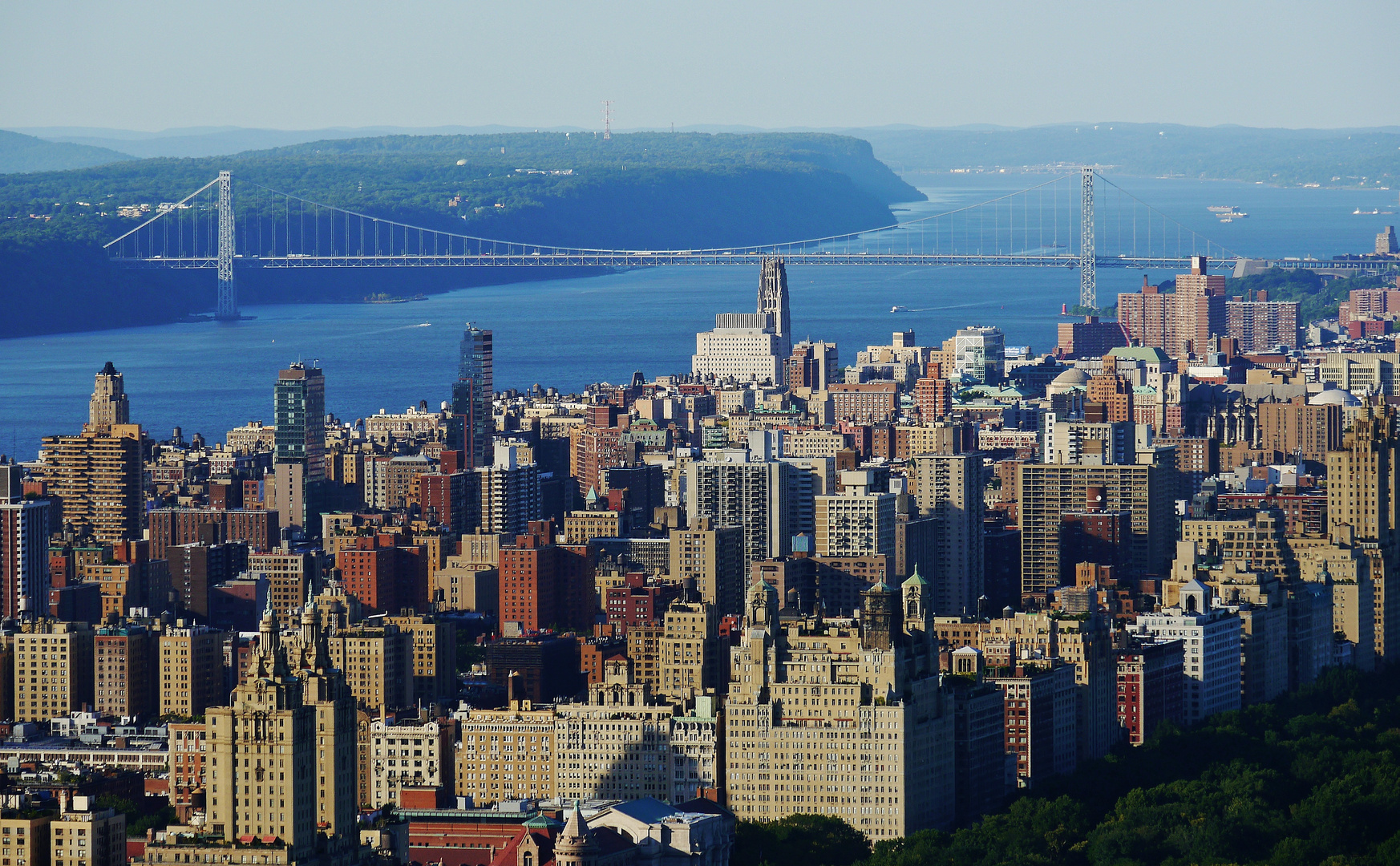 """... vom """" Top of the Rock """" nach NW"""