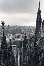 Vom Vierungsturm Richtung Rathaus (1986)
