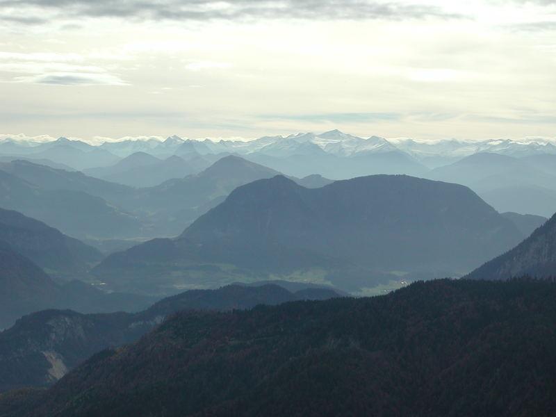vom Waldhügel zum Hochgebirge