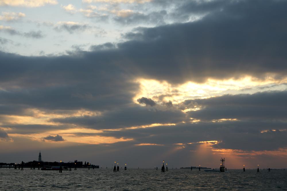 von Burano nach Venedig