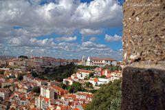 Von der Burgmauer Castelo de Sao Jorge