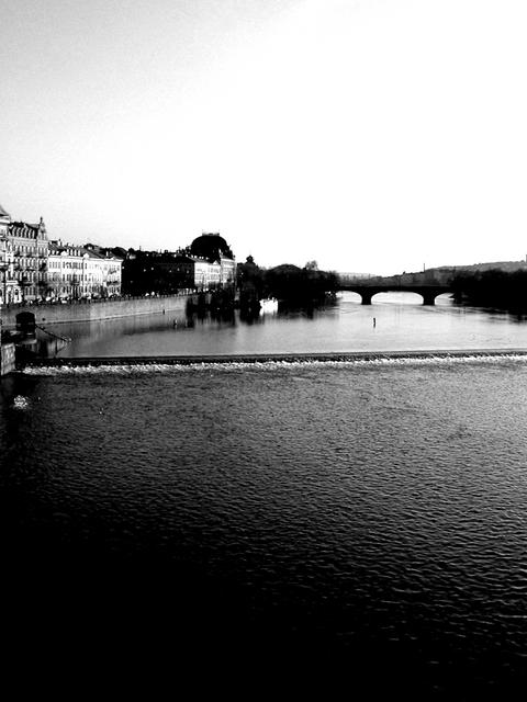 von der Karlsbrücke aus