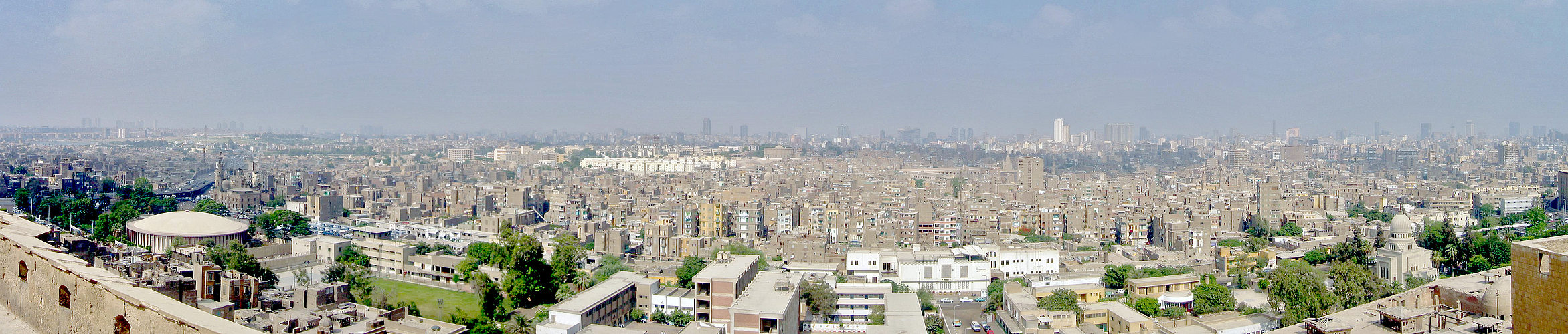 von der zitadelle hat man einen megageilen blick über kairo wie ich finde