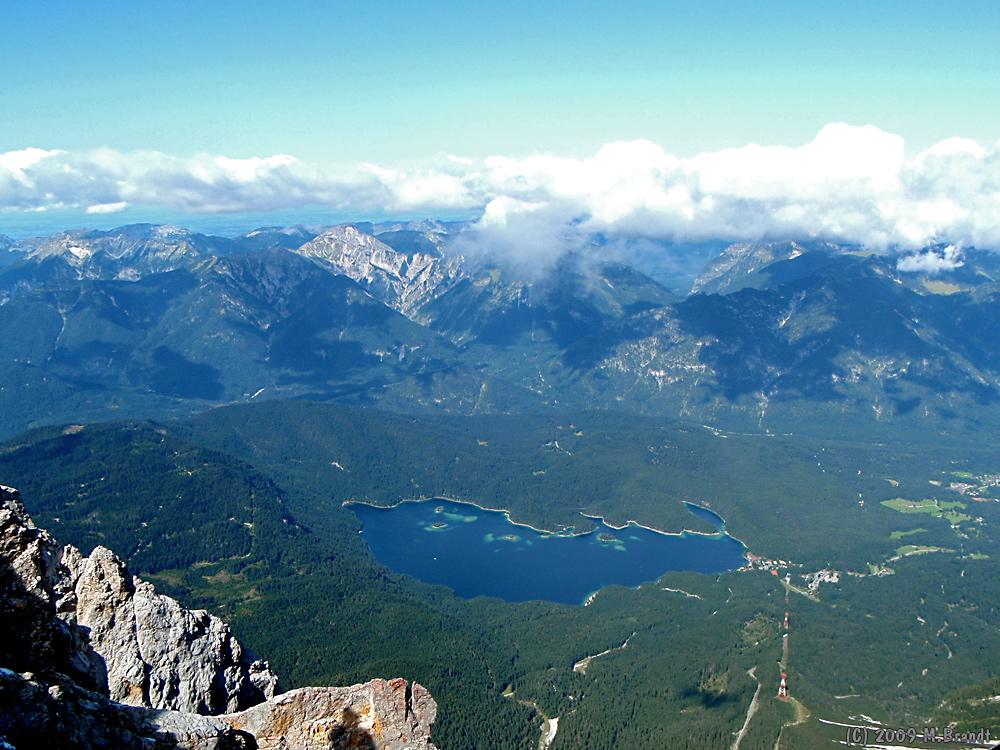 Von der Zugspitze zum Eibsee
