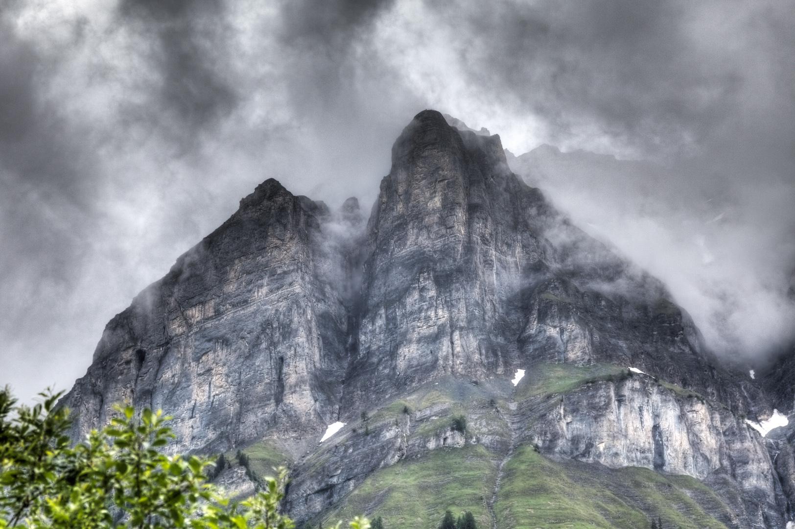 ... von diesem hohen Berg wird er kommen ...