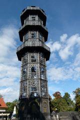 Von diesem Turm aus.