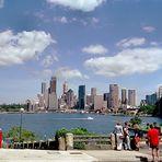 Von Kirribilli hat man einen Superblick auf die Skyline.