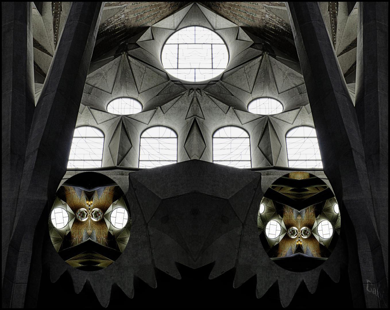 Von Mäusen und Wächtern in la Sagrada Familia