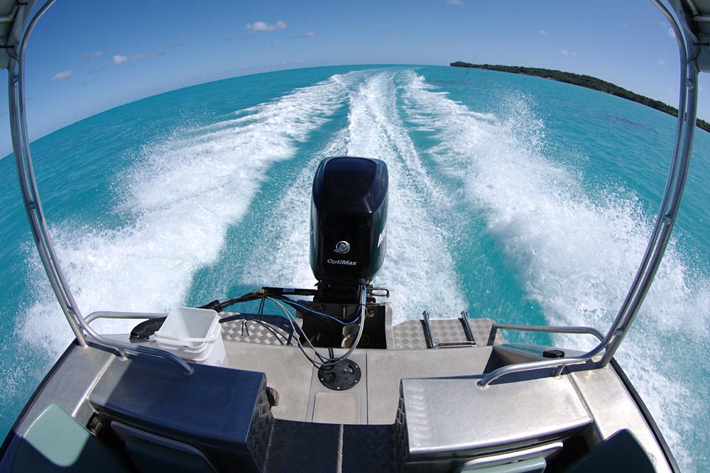 von Motu zu Motu auf Aitutaki