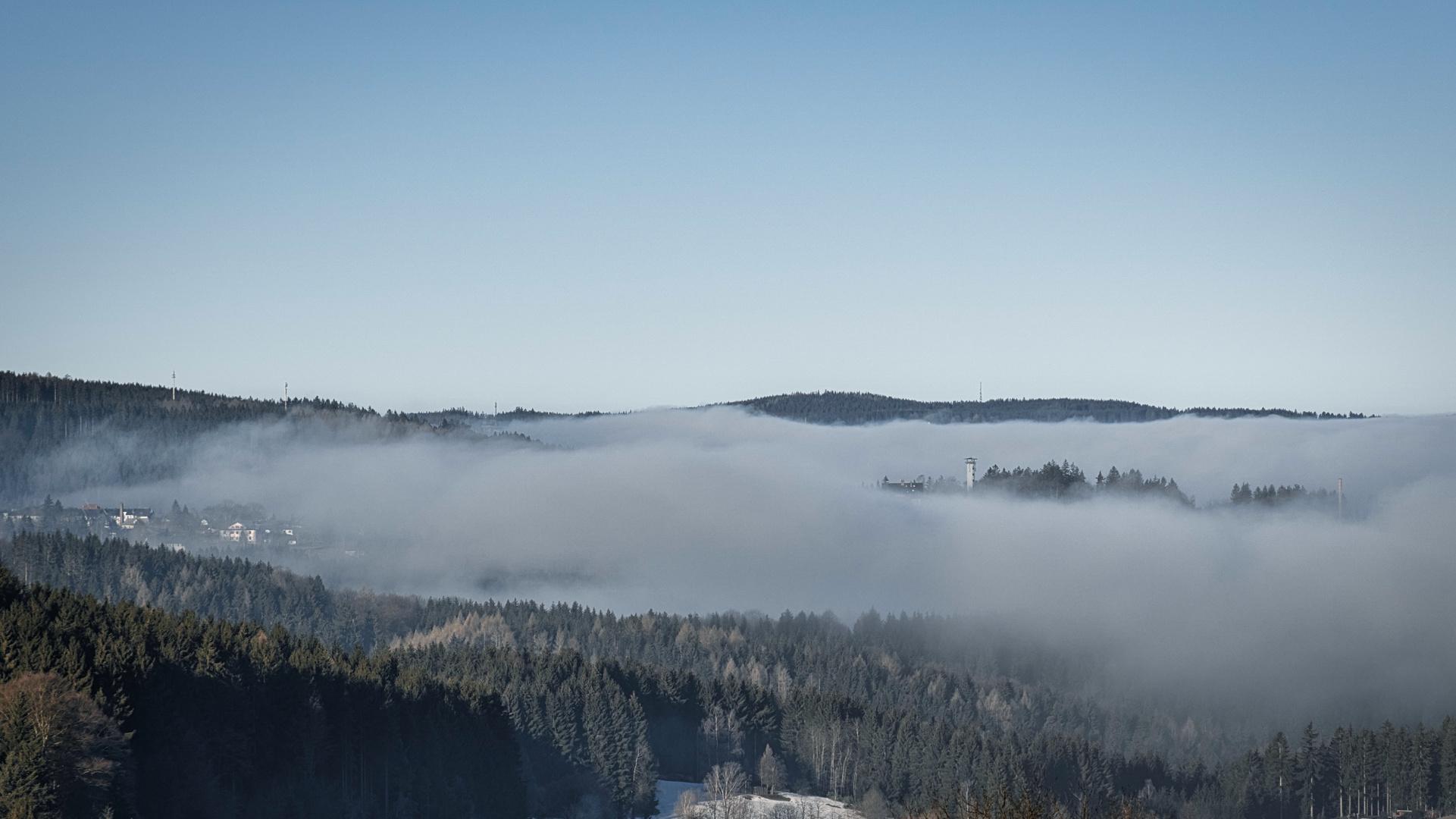 Von Nebel umschlossen