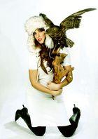 von Schneehasen & Greifvögeln