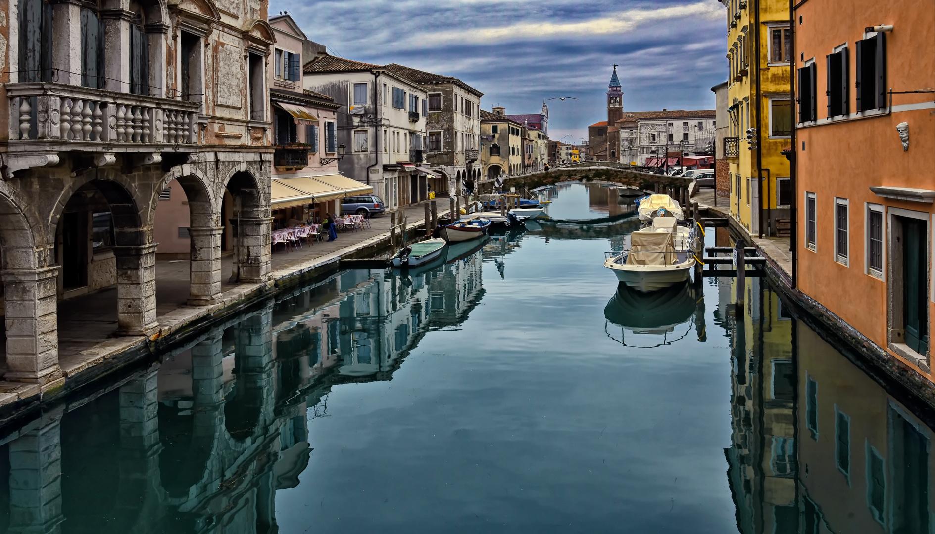 Von Sottomarina nach Chioggia
