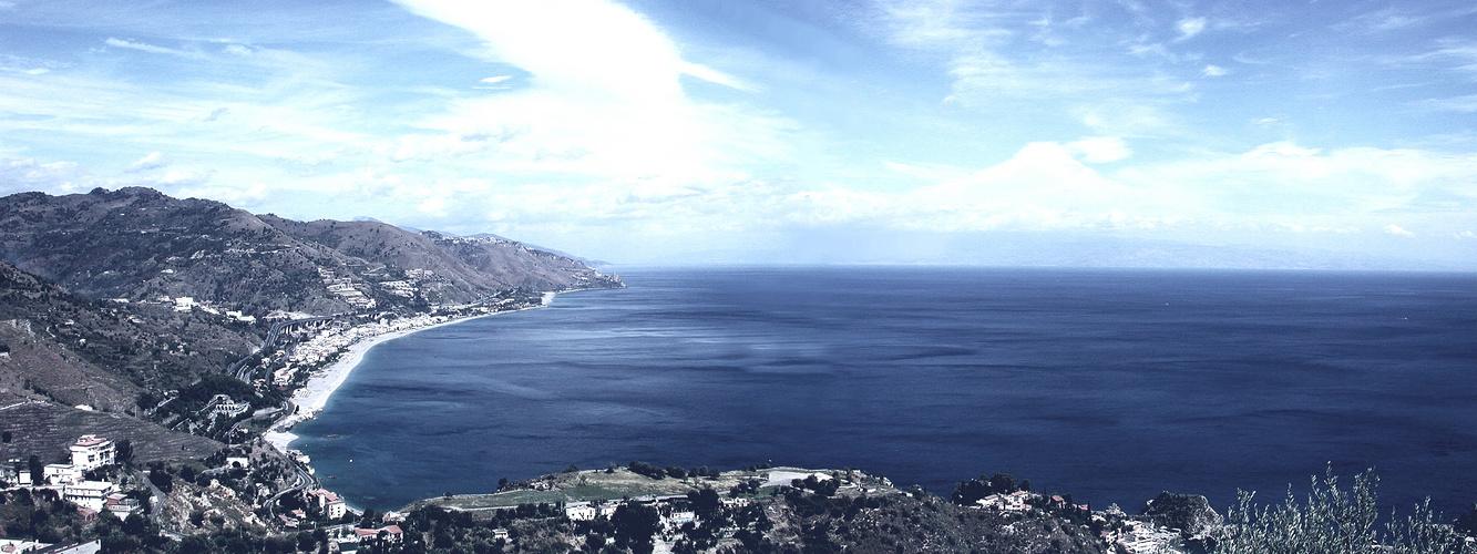 Von Taormina in den Nord-Westen...