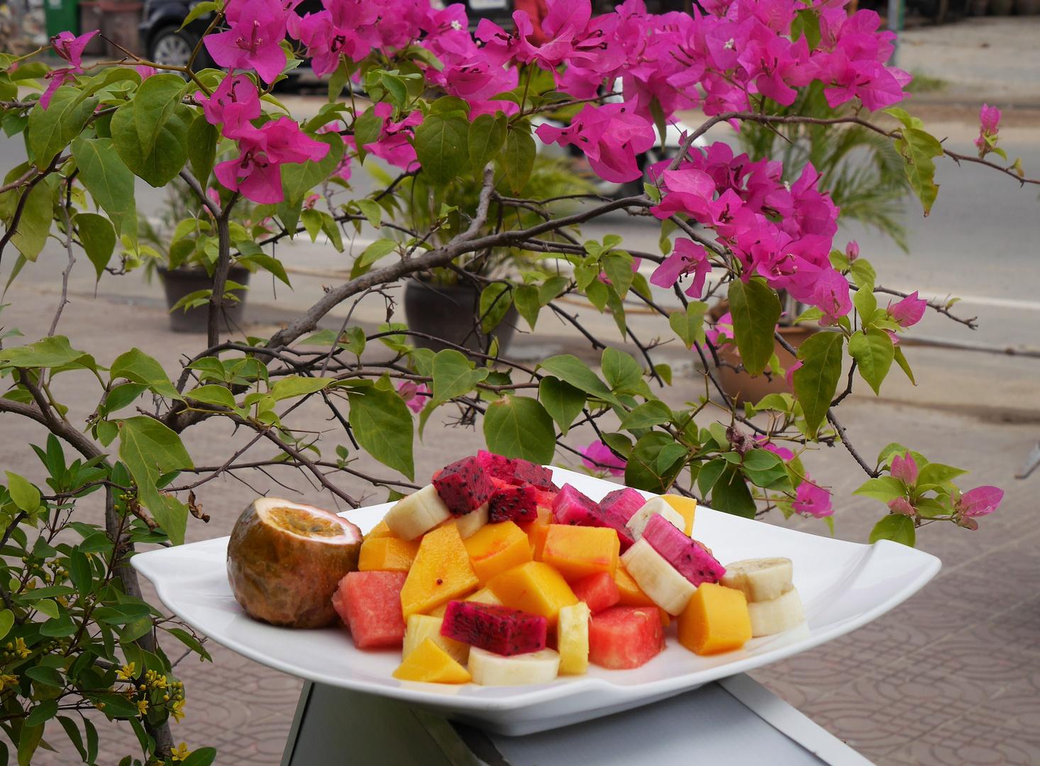 vor dem Männerfrühstück ...