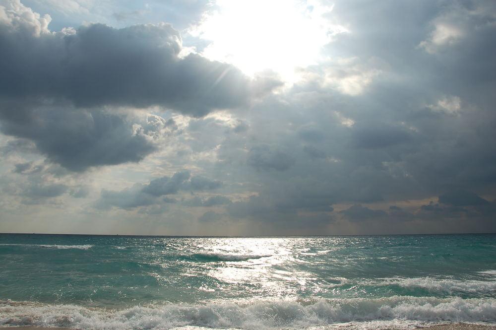 Vor dem Regen - Miami -Florida