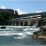Vor dem Rheinfall