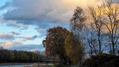 Vor dem Sturm am Mittellandkanal
