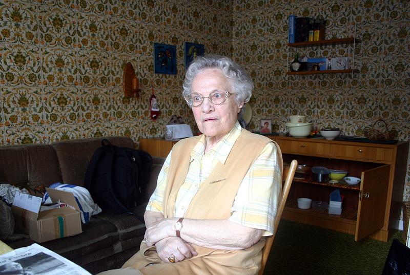 Vor dem Umzug in die Senioren-Residenz