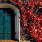 Vor der Kirchentür (1)