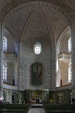 Vor der Konzertprobe in der Kreuzkirche