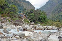 Vor Khorlabesi im Manaslu-Gebiet