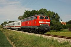 (Vor-) Sommer an der Rottalbahn