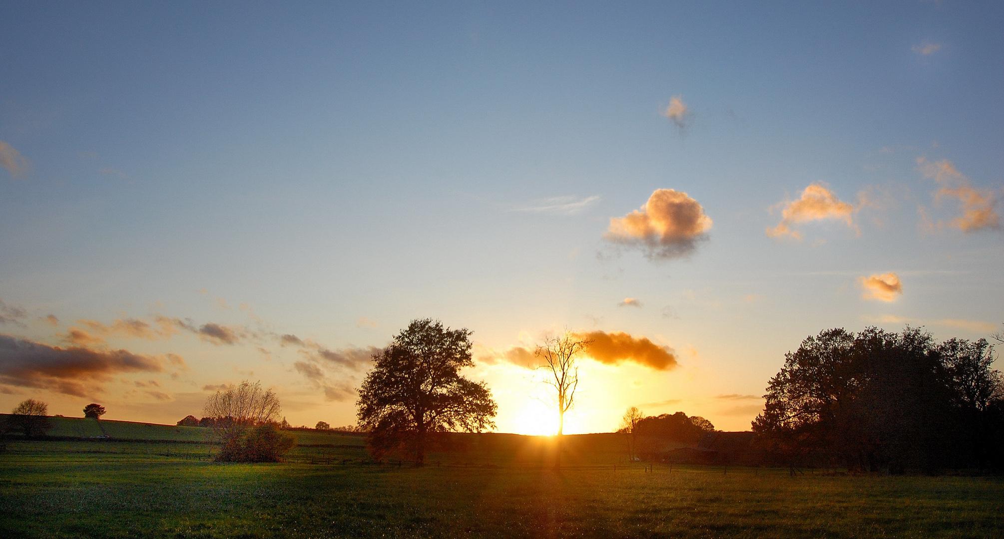 Vor Sonnenuntergang