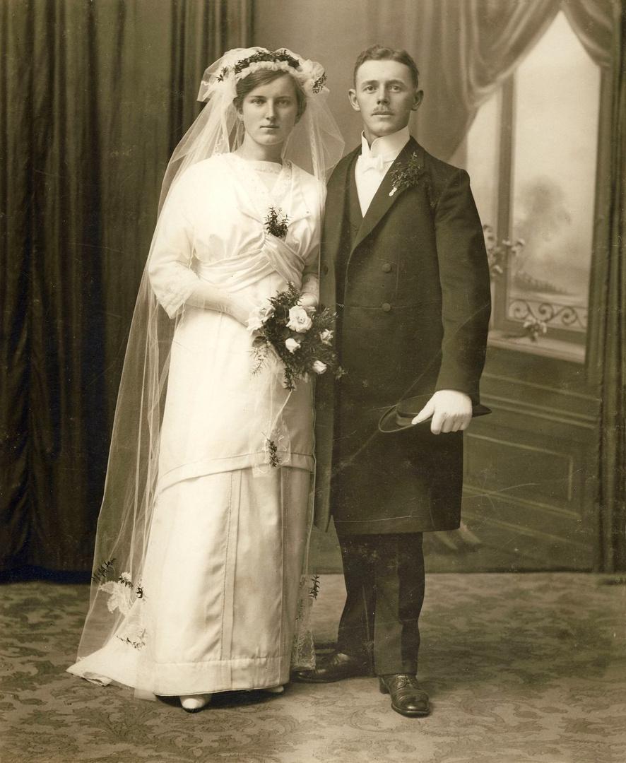 vor über 100 Jahren Foto & Bild | erinnerungen, hochzeit ...