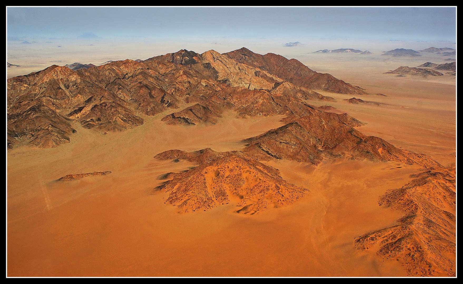 Vor Wolwedans, en Sud-Ouest de Namibie