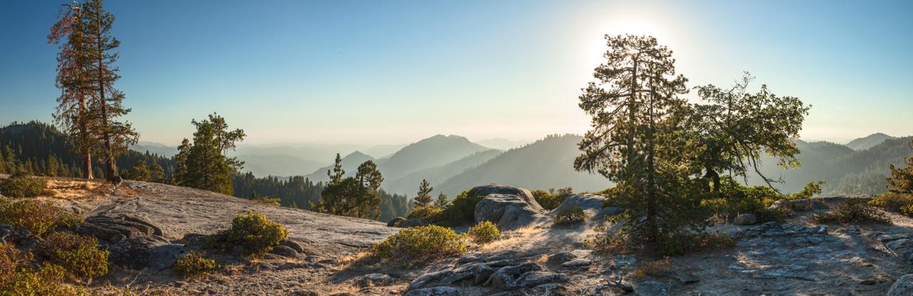 Vorabendstimmung im Sequoia National Park