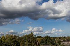 Vorbeiflug der Wolken