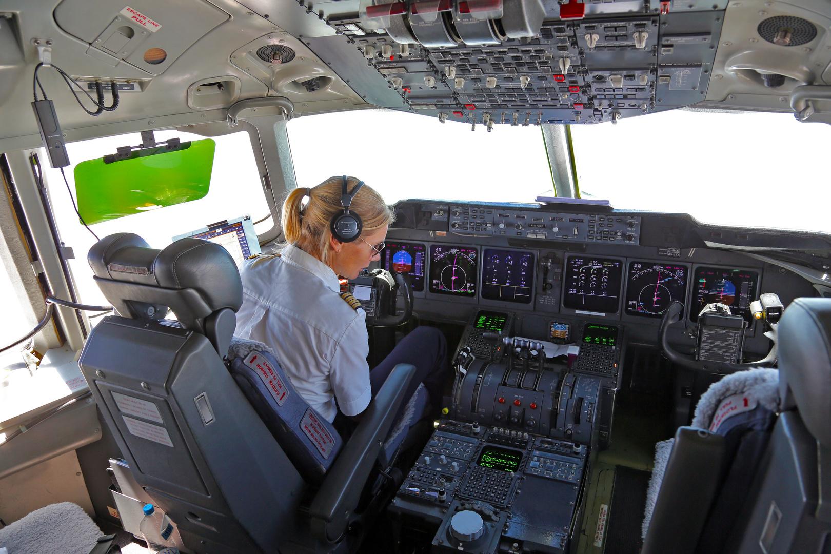 Vorbereitung zur Landung in Nairobi