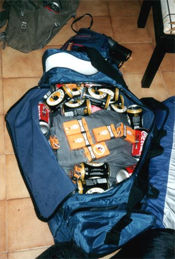 Vorbereitung zur Safari