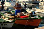 Vorbereitungen für den nächsten Fang