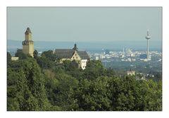 Vordertaunus und Frankfurt im August