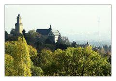 Vordertaunus und Frankfurt im Oktober