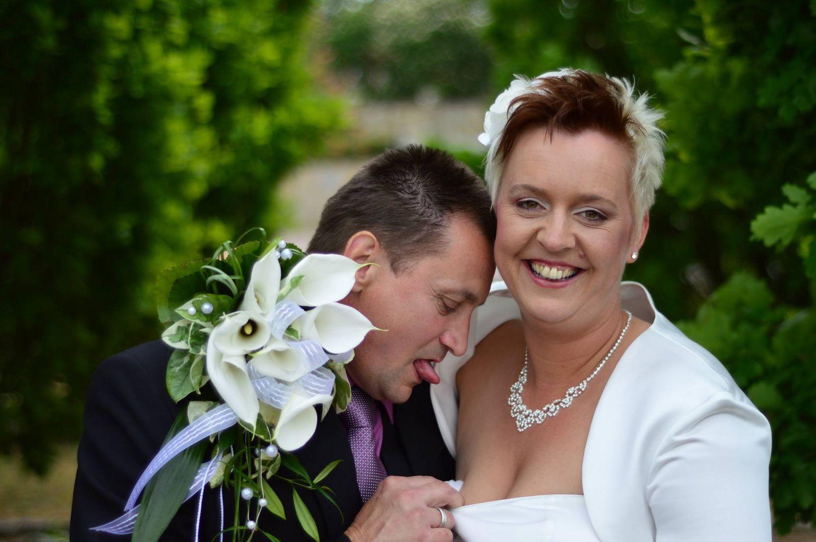 Vorfreude Hochzeitsnacht Foto & Bild   hochzeit, menschen