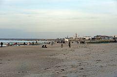 Vorfrühling am Strand von Warnemünde
