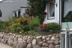 Vorgarten mit Steinmauer 2