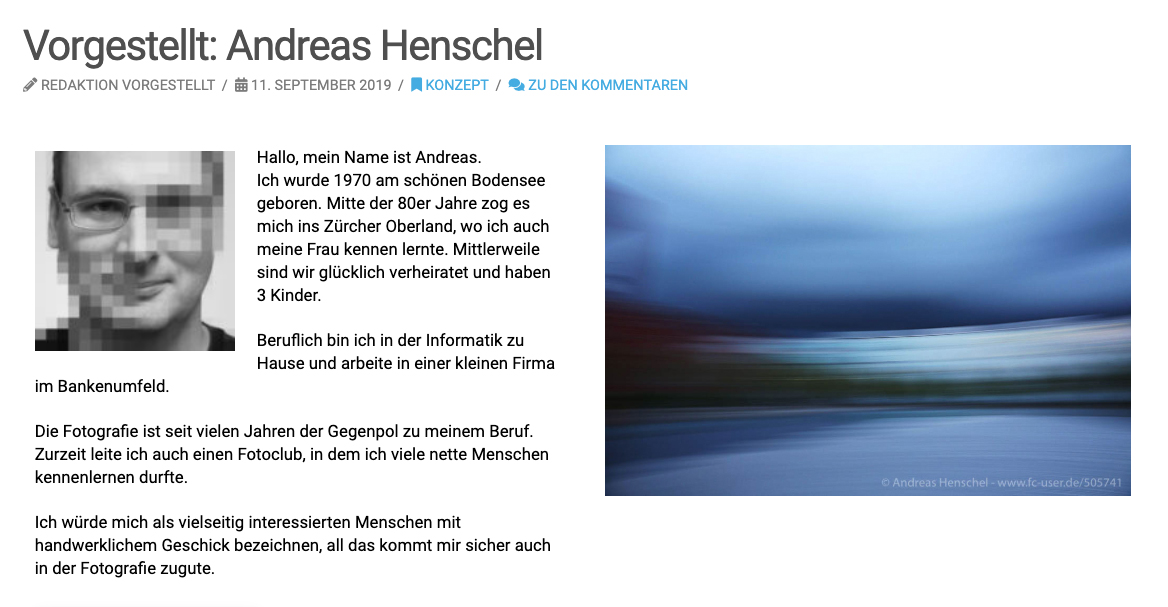 Vorgestellt: Andreas Henschel