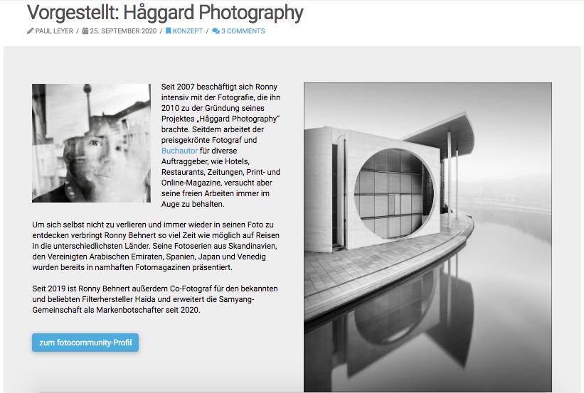 Vorgestellt: Håggard Photography