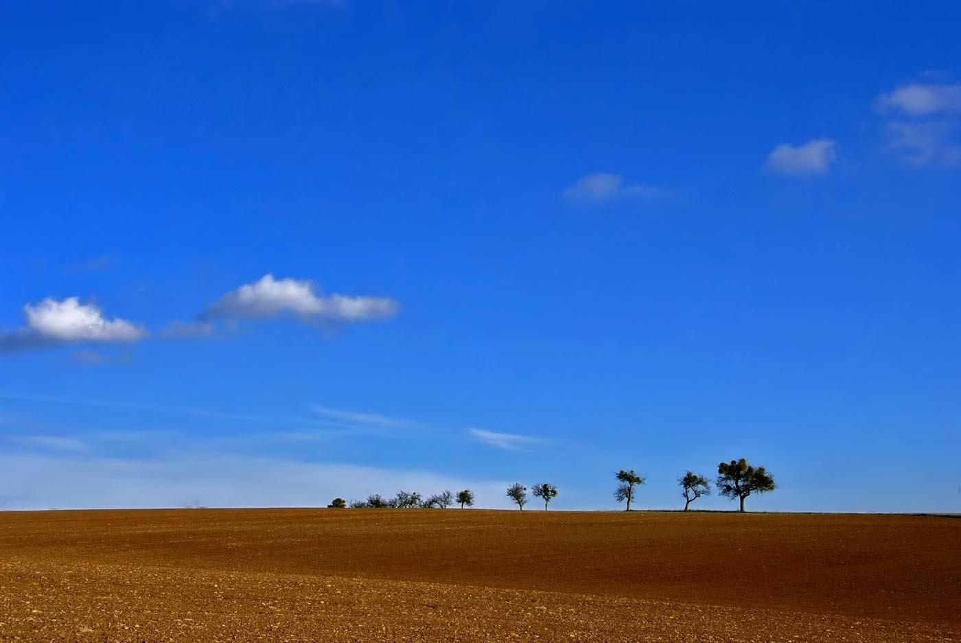 Vorgestern war der Himmel noch blau ....