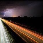 Vorsicht Blitzer auf der A92