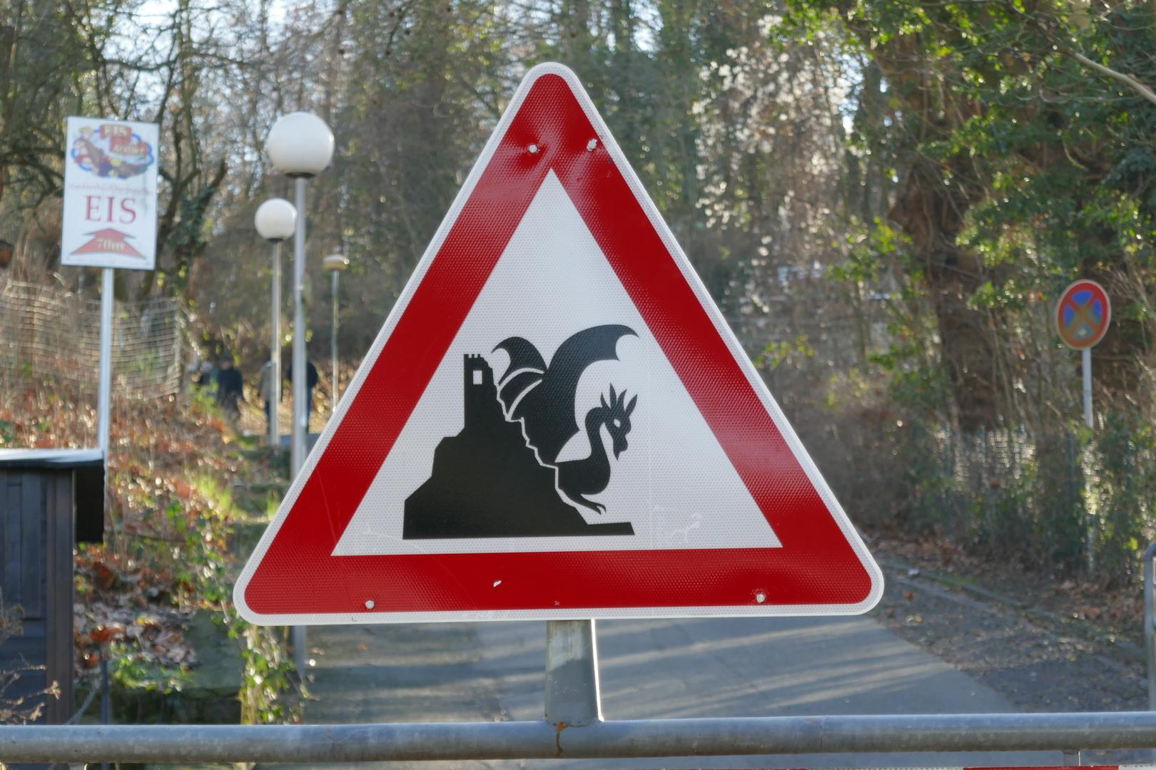 Vorsicht Drache vorraus :-)