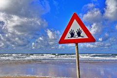Vorsicht Hände