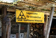 Vorsicht - radioaktiv !