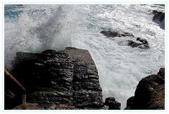 Vorsicht Welle