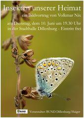 """Vortrag """"Insekten unserer Heimat"""""""