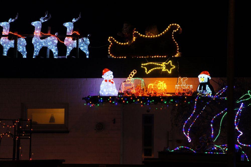 vorweihnachtlicher Lichterglanz