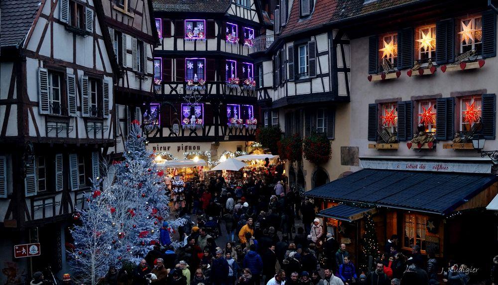 Vorweihnachtszeit Colmar (Elsaß)